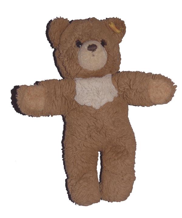 Teddy-Bär Bettnässen