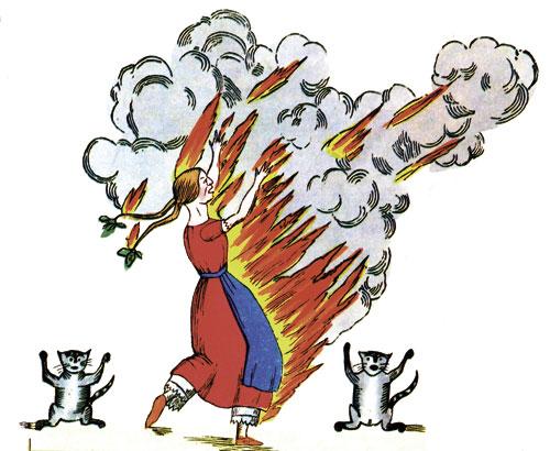 Schwere Verbrennungen