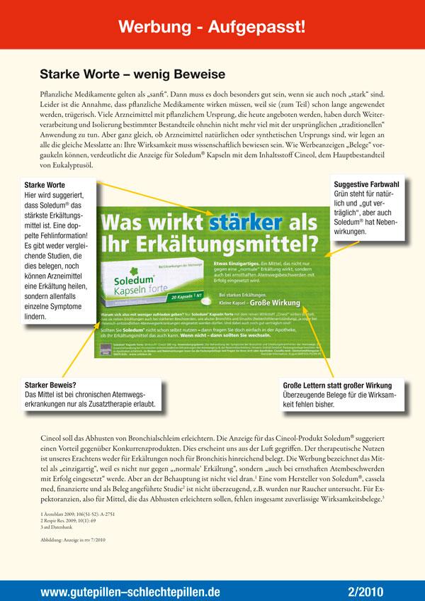 Werbung – Aufgepasst! GPSP 2 2010