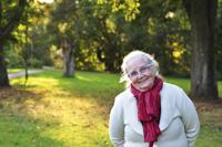 Seniorin Pflege