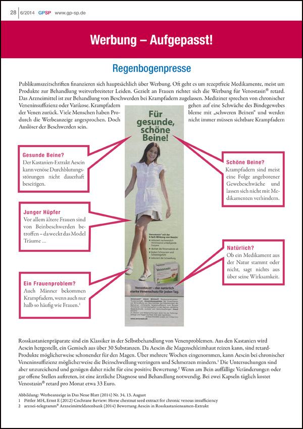 Werbung Aufgepasst! Regenbogenpresse 6/2014