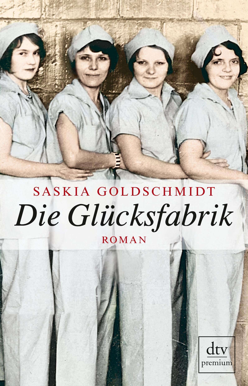 Saskia Goldschmidt (2014) Die Glücksfabrik. dtv, 326 S., 14,90€